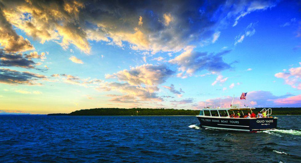 The Quo Vadis - Fish Creek Scenic Tour Boat