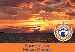 Fish Creek Sunset Cruise Boat Tour